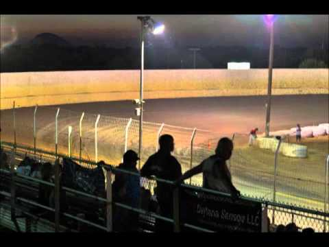 Time Lapse Video Marysville Raceway Park 8/11/12