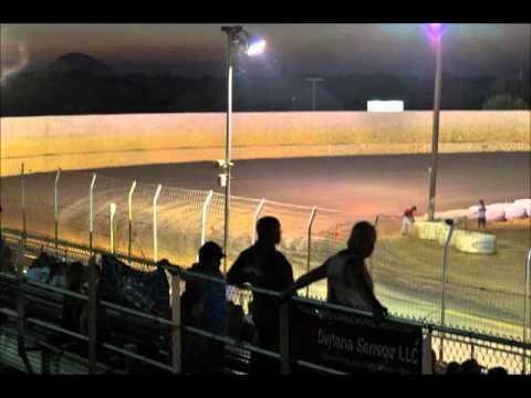Time Lapse Video Marysville Raceway Park 8/11/12