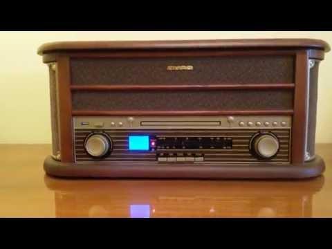 Auna Belle Epoque 1908 Retro-Stereoanlage