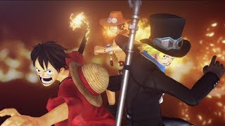 ONE PIECE Pirate Warriors 3 Deluxe Edition - Launch Trailer | Switch