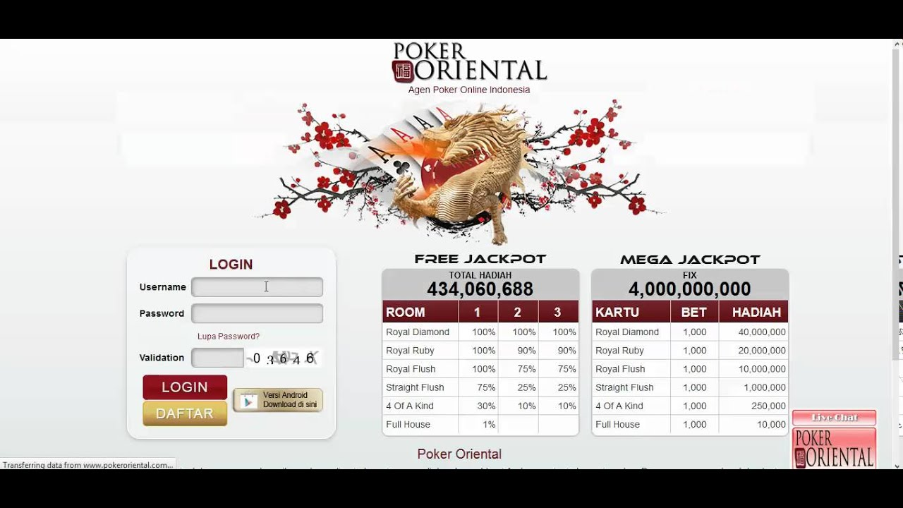 Cara Daftar pokeroriental - YouTube