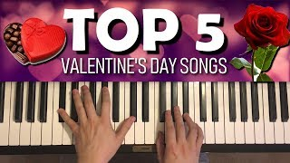 Baixar TOP 5 VALENTINE'S DAY POP SONGS ON PIANO