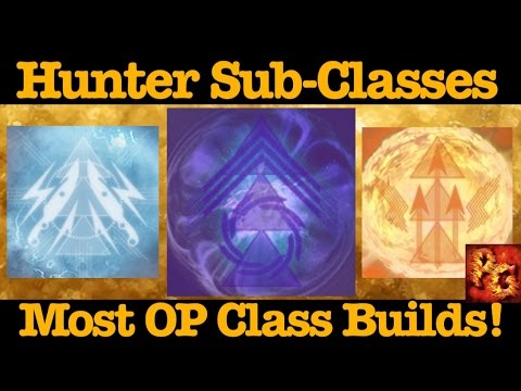 Destiny: Best Builds For All Hunter Sub Classes! (Nightstalker, Bladedancer, And Gunslinger)