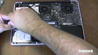 Macbook Pro RAM and Hard Drive Upgrade