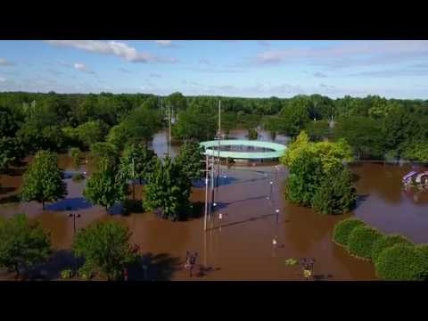 "Midland, MI, June 25 2017, matches ""500 Year Flood"" of 1986"