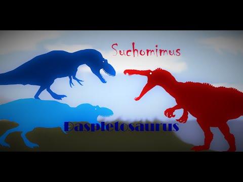 Suchomimus Vs Daspletosaurus (Read Description)