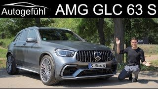 Mercedes AMG GLC 63 S FULL REVIEW 2020 Facelift of the SUV beast - Autogefühl