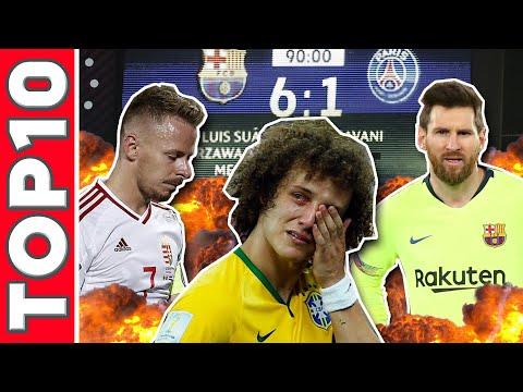 A futballtörténelem 10 legmegalázóbb veresége!