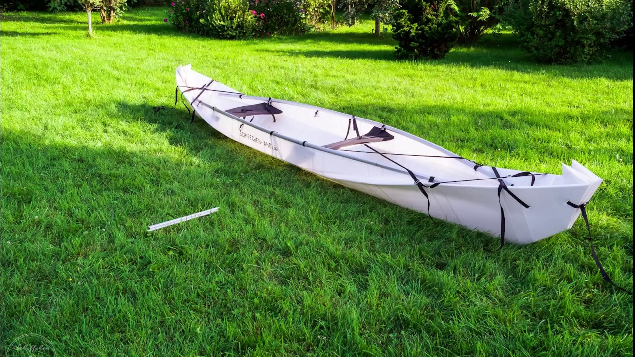 That´s how we fold our ONAK foldable canoe