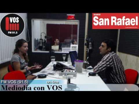 Belén Mirallas, En el estudio en MEDIODÍA CON VOS