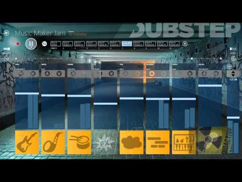 Music Maker Jam (Windows 8) Dubstep