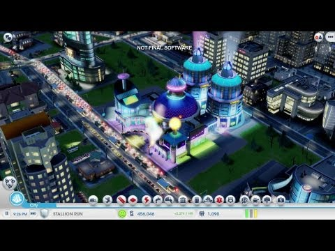 SimCity - Casino City Gameplay