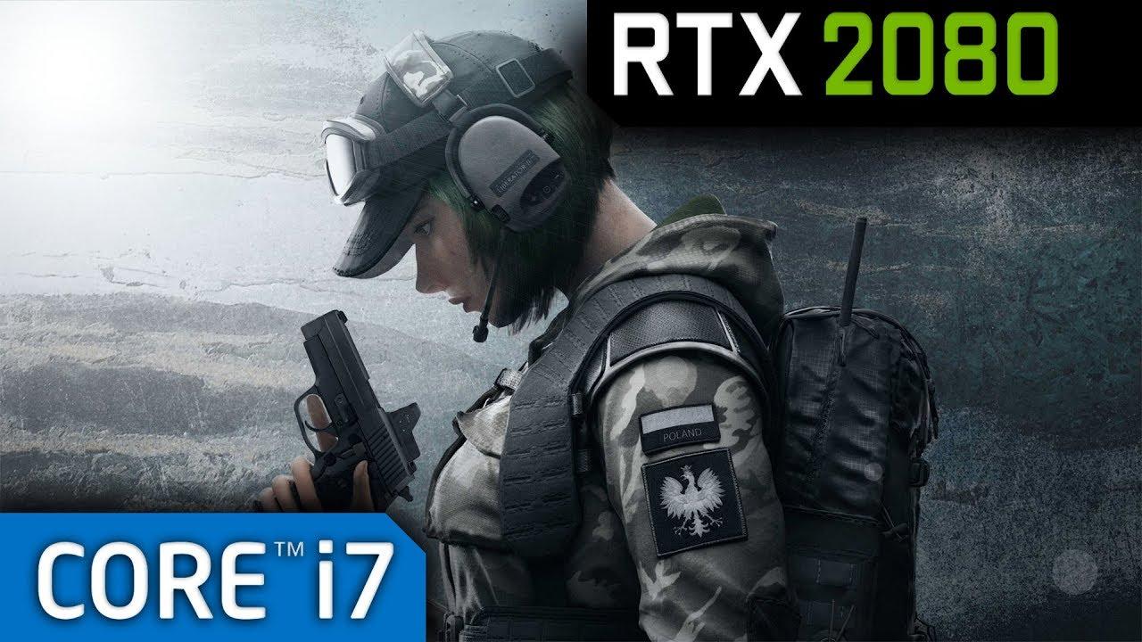 Rainbow Six Siege RTX 2080 - Maximum Settings - 50% Render Scale