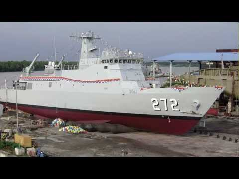 Launching of TLDM Ship Teguh Samudera