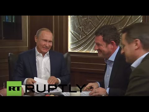 Russia: Putin releases unpublished talks between German, Russian leaders to the 'Bild'