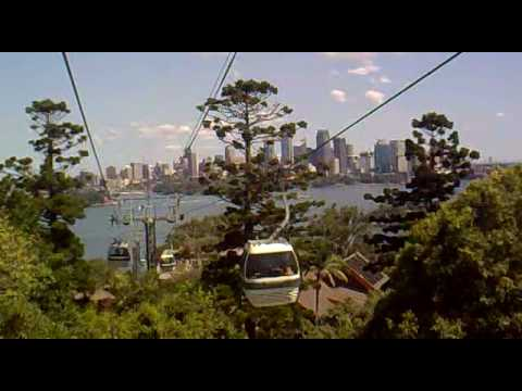 Cable Car Taronga Zoo - Sydney, Australia