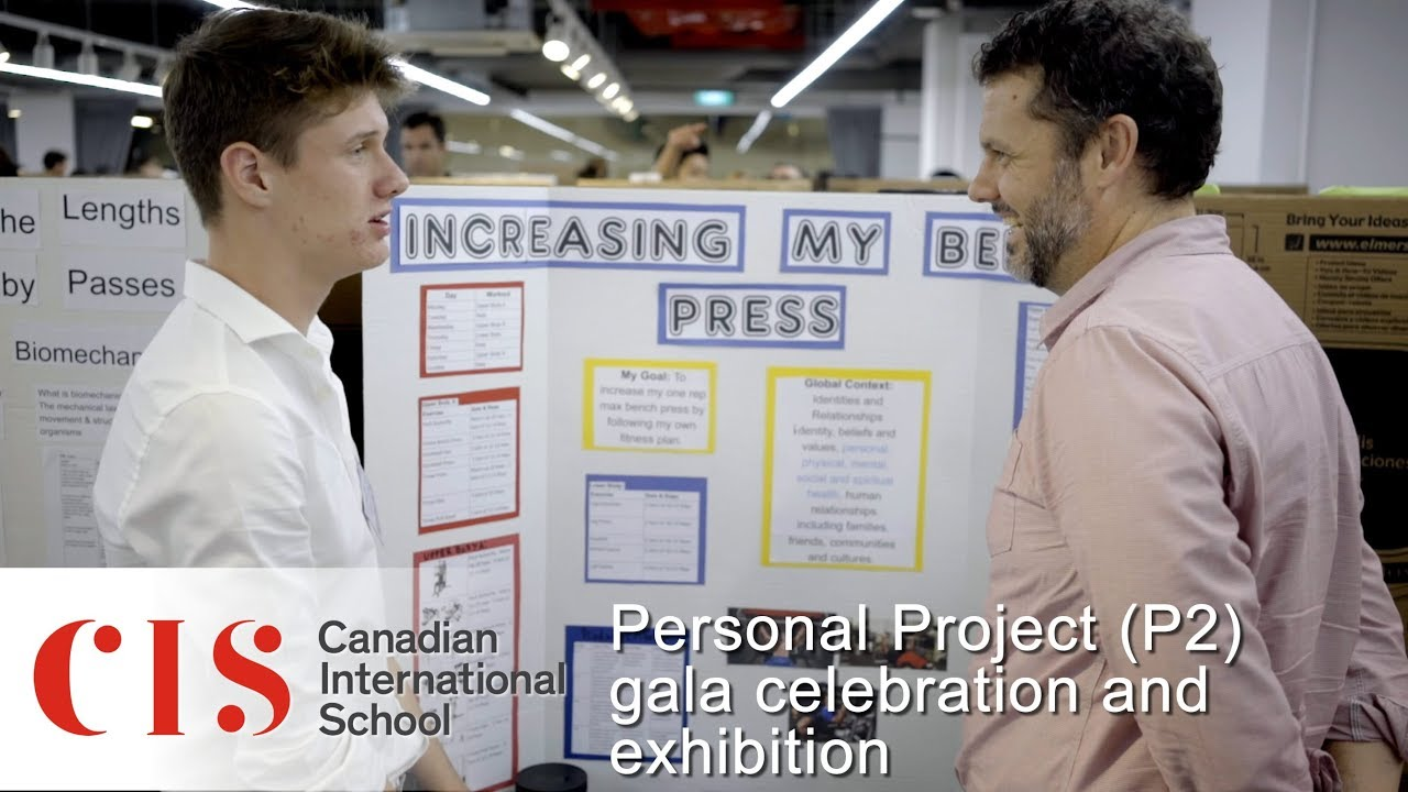 Personal Project P2 Gala Celebration And Exhibition Youtube
