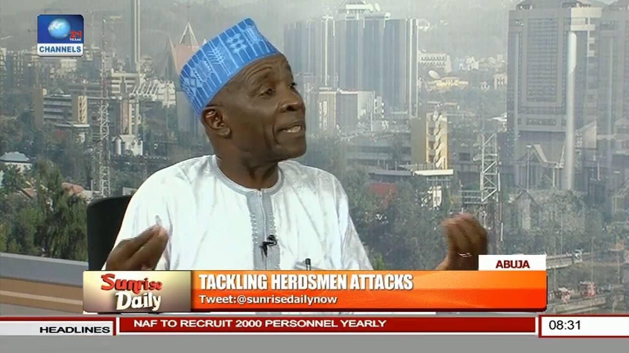 Download Buba Galadima Speaks On Tackling Herdsmen Attacks Pt. 1