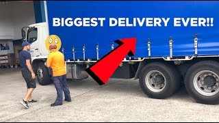 Biggest Delivery Ever!!