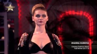 Показ    ZHANNA KLIMOVA Odessa Fashion Week, Осень Зима 2017 18