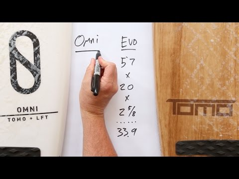 Slater Designs Omni Vs. Tomo Evo - How to Size Each Board for Your Surfing