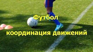 Футбол координация движений