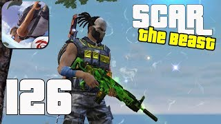 Free Fire: Battlegrounds - Gameplay part 126 - SCAR The Beast Solo  BOOYAH!🤩 (iOS, Android)