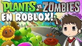 PLANTAS VS ZOMBIES EN ROBLOX | Roblox Plants vs Zombies: Battlegrounds