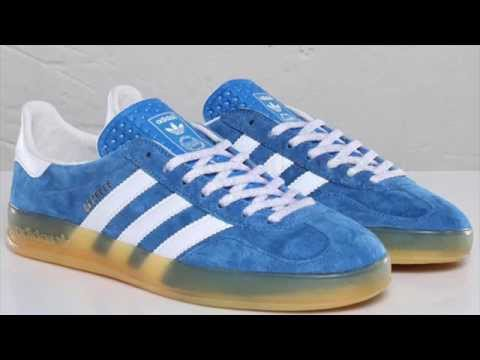 adidas gazelle indoor azul