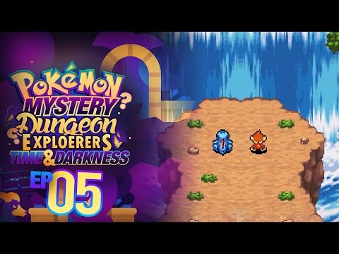 """Pokemon Mystery Dungeon: Explorers of Time & Darkness Co-Op Episode 05 - """"SECRET WATERFALL"""""""