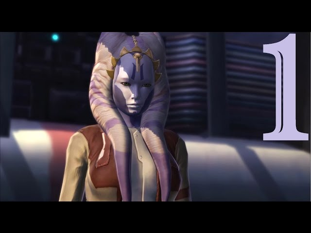 Star Wars: The Old Republic - Female Togruta Smuggler - Part One