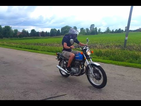 Honda Cb360 Top Speed Test!!!