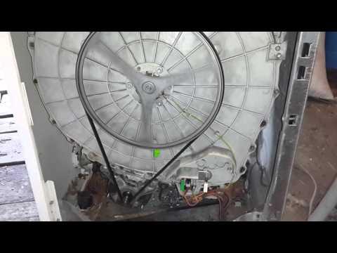 Работа стиральной машинки Whirlpool