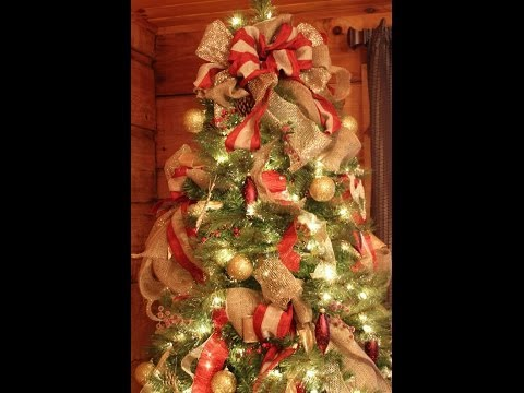 How to Decorate a wonderful Christmas tree| Very easy DIY