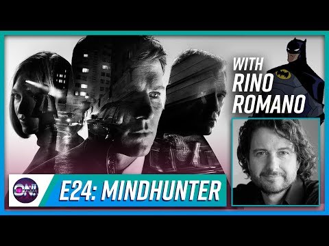 Nerd On! The Podcast  Episode 24: Mindhunter with Rino Romano, voice of The Batman