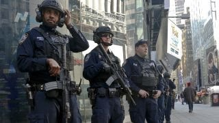 NYPD guard against threats above and below ground