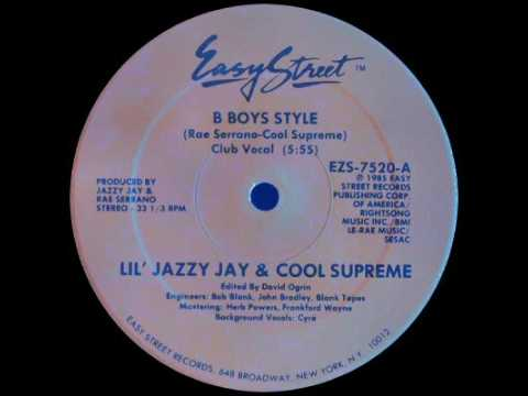 Lil Jazzy Jay Amp Cool Supreme B Boys Style Doovi