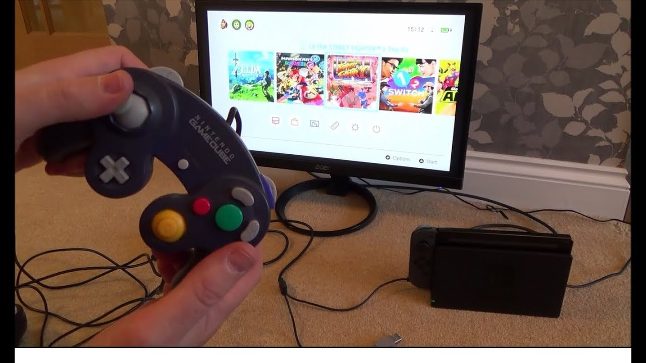 How To Sync Up Gamecube Controllers On The Nintendo Switch Youtube Wire A Two Way