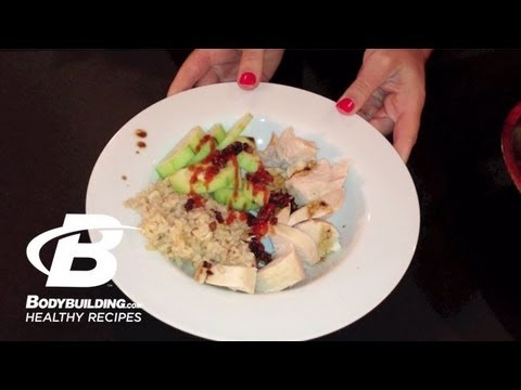 Healthy Recipes: Malaysian Chicken and Rice
