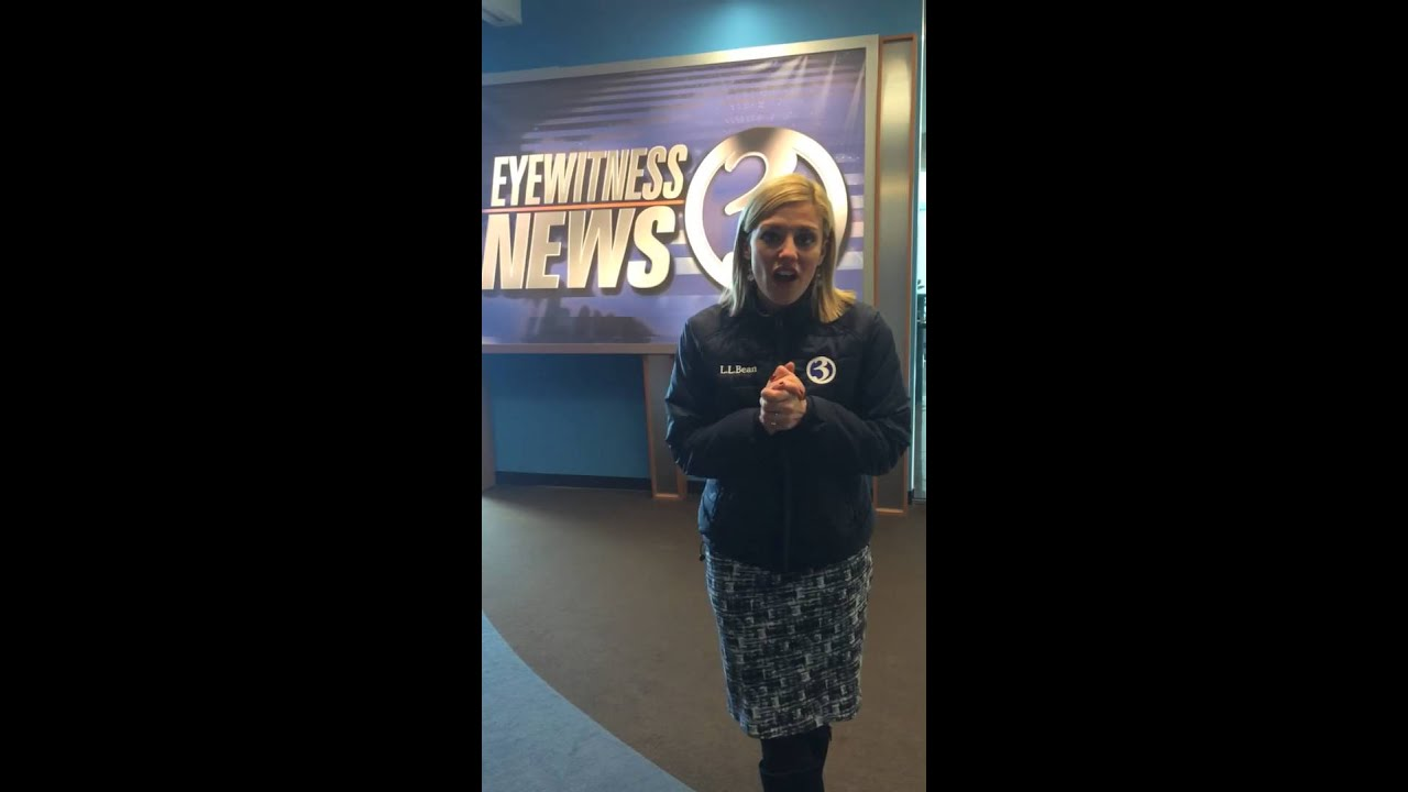 Nicole Nalepa Of Channel 3 Wfsb Accepts Turkey Challenge