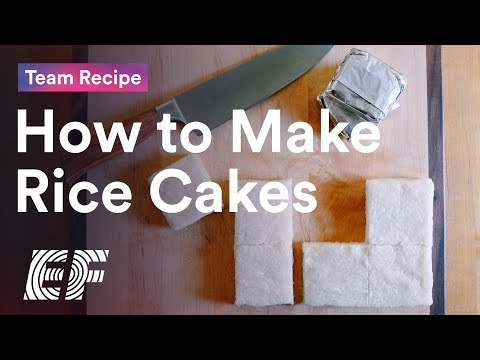 Team Recipe: How to Make Rice Cakes