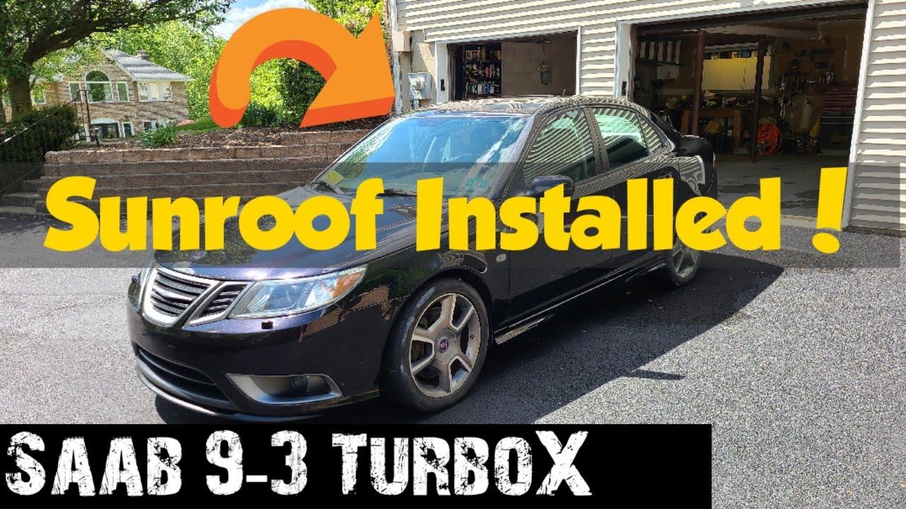 Og Saab 9 3 Door Lock Actuator Handle Removal Overview Youtube