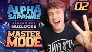 LURKER HYPE! | Pokemon Alpha Sapphire Randomizer Nuzlocke Part 2 [Master Mode] thumbnail