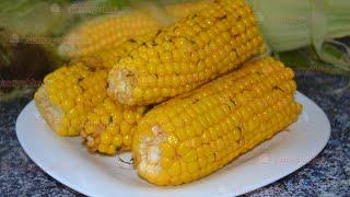Кукуруза запечённая в фольге в мультиварке