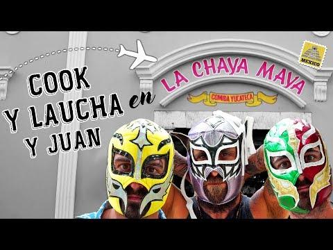 ¡Episodio especial! Comida en La Chaya Maya, Mexico | Cook & Laucha 2x1