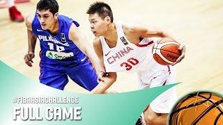 China v Philippines - Full Game - FIBA Asia Challenge 2016