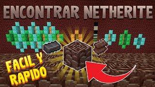 Tutorial Minecraft, Cómo encontrar Netherite