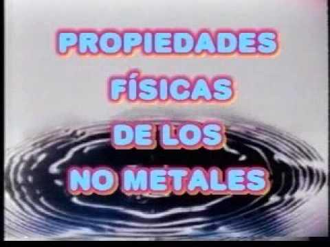 Propiedades fsicas y qumicas de los metales y no metales youtube propiedades fsicas y qumicas de los metales y no metales urtaz Choice Image