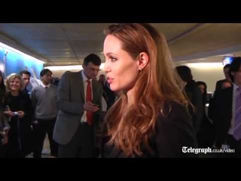 Angelina Jolie watches ICC conviction of Congolese warlord Thomas Lubanga