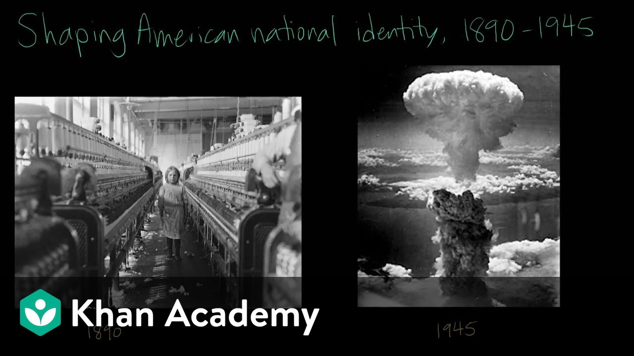 100 Americanism shaping american national identity from 1890 to 1945